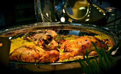 Whole roasted Chicken at GINGER ALL DAY DINING Family Brunch