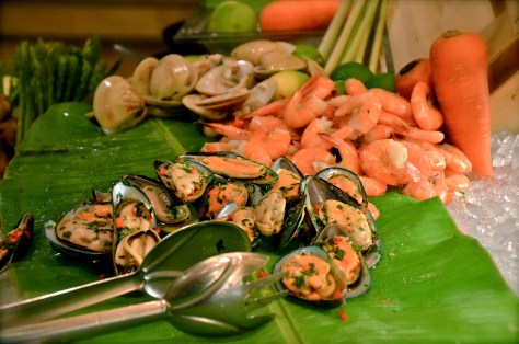 Seafood night at GINGER ALL DAY DINING