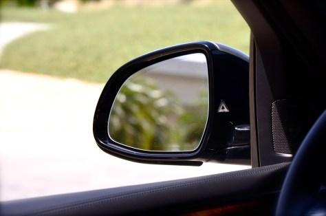 BMW blind spot detector