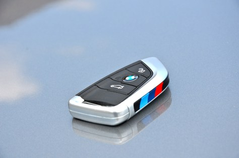 BMW X5 Car key with exclusive M designation