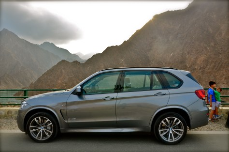 BMW X5 - M Aerodynamics package with front apron, side skirts, wheel arch trims, in body colour