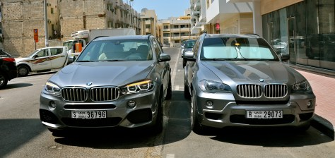 OLD VS NEW BMW X5