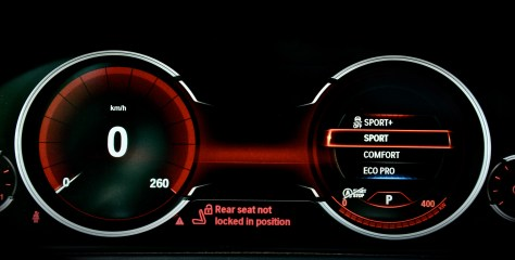 Multifunctional Instrument Display - BMW sport