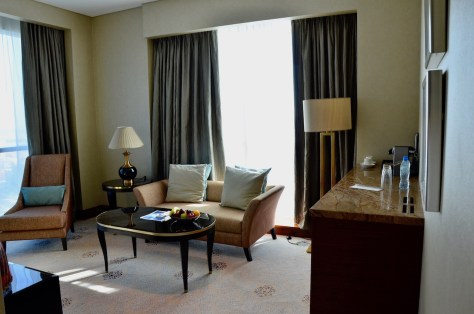 separate living area - Club Junior Suite, Dusit Thani Abu Dhabi