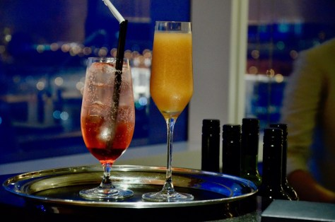 Complimentary Mocktails at Dusit Thani Club Lounge