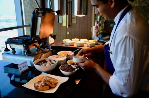 French Toast at Club Lounge from 06:30am to 10:30pm