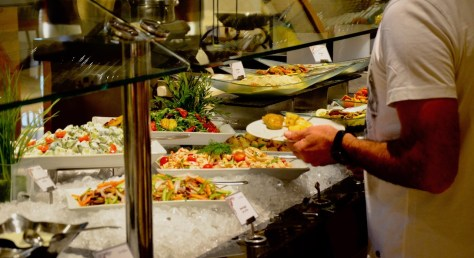 Salads at Urban Kitchen Lunch Buffet - AED 151 per adult without drinks