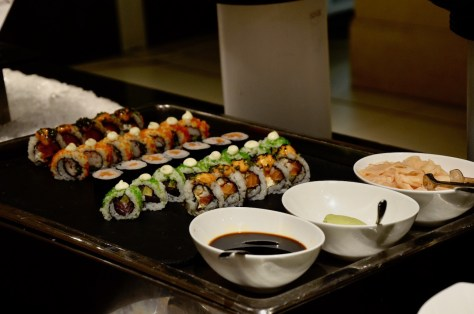 Sushi at Urban Kitchen Lunch Buffet - AED 151 per adult without drinks