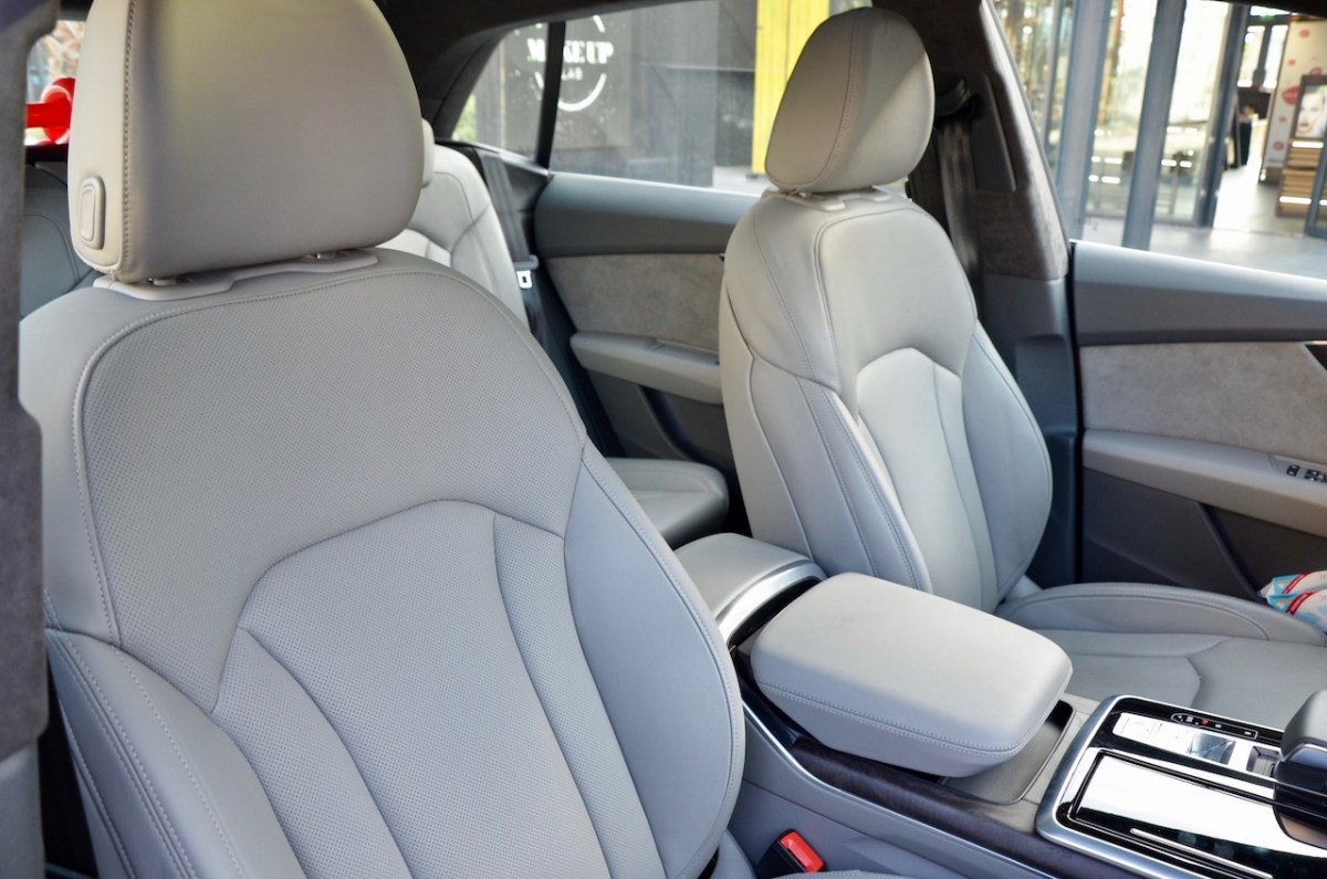 Available Valcona Leather And 18 Way Individual Contour Front Seats Compose A Confident Drive In The Audi Q8 Dubaicravings Com