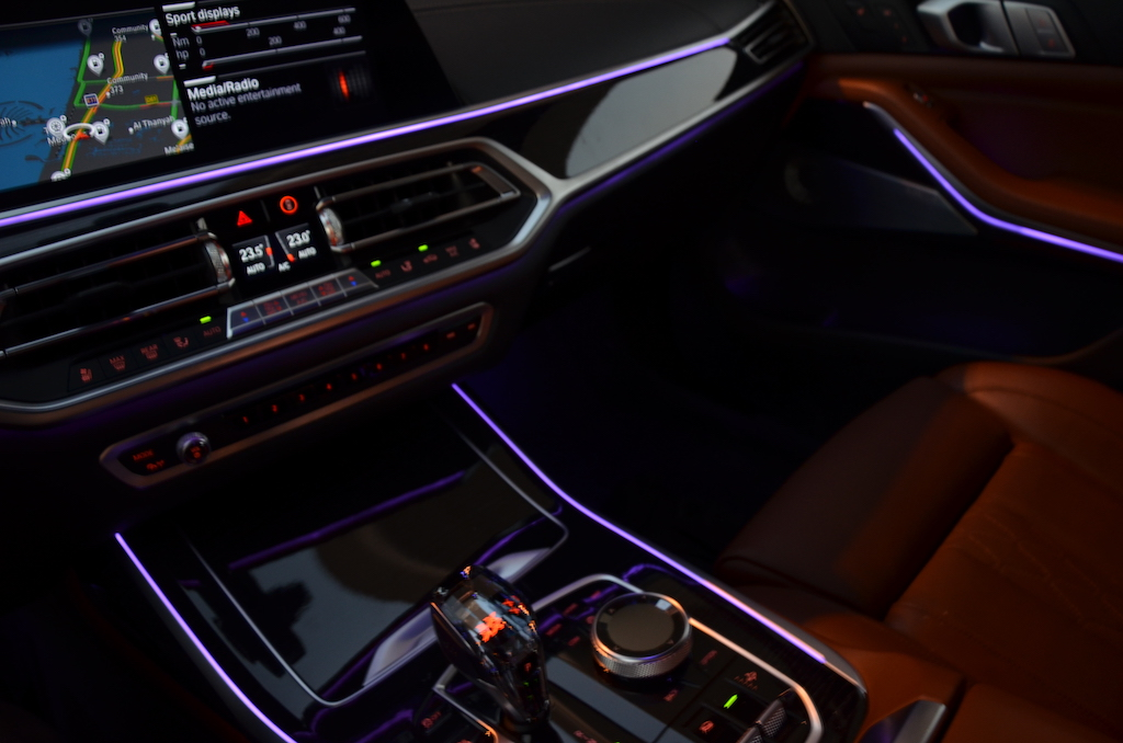 Bmw Extended Ambient Lighting Includes Door Handle Area Lighting Illuminated Driver And Front Passenger Vanity Mirrors Front Footwell Lights Front And Rear Reading Lights And 12 Predefined Selectable Interior Light Designs Dubaicravings Com