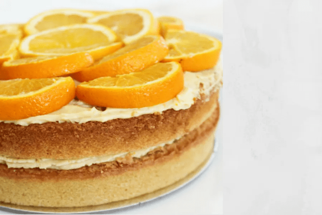 ORANGE VANILLA CAKE DUBAI FASHION NEWS 1