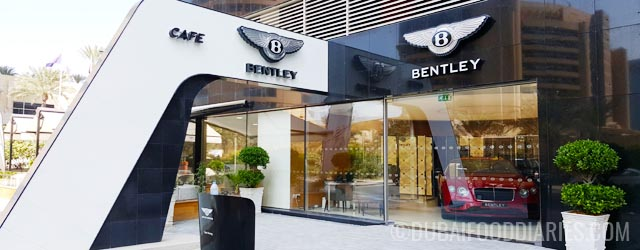 Coffee and a light bite at the bentley cafe boutique for Boutique one dubai