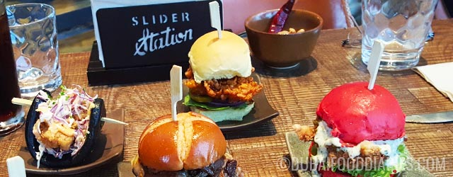 Diminutive burgers and photogenic food at Slider Station, Al Safa