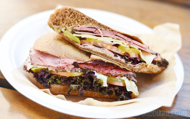 Pastrami sandwich at Appetite the Shop in Business Bay Dubai