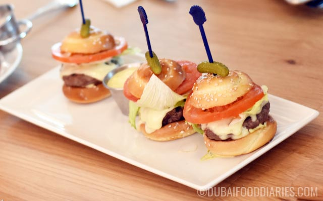 Mighty Mini Beef Sliders at Serendipity 3 Dubai Festival City