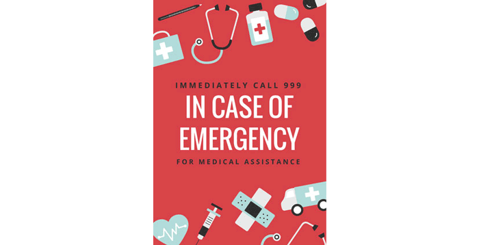 knowing important emergency contact