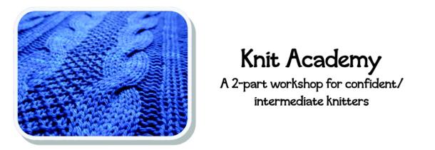 knit workshop