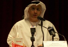 RTA chairman and executive director Mattar Al Tayer speaking this morning.
