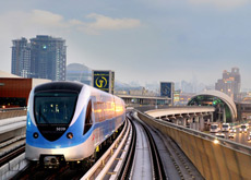 METRO RULES: Only hand luggage is allowed on the Dubai Metro. (ITP Images)