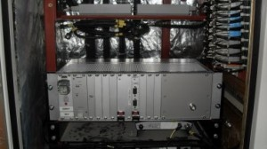 Every train is also fitted with Nomad Digital's ruggedised R3500 broadband gateway, pictured above.  The gateway can use a range of WAN backhaul networks, including 3G, HSDPA/HSUPA, Edge, CDMA-2000, EV-DO, UTMS W-CDMA and WiMax. In Dubai, the system uses mobile WiMax and HSPA as backhaul for the wi-fi service.  Photo credit: Nomad Digital