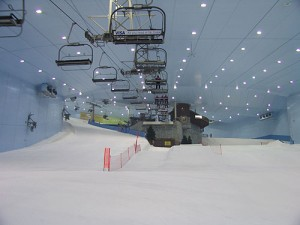 Ski Dubai on a slow day.