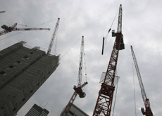 PROJECT WORK: Infrastructure construction work in the UAE is predicted to grow by 3.3 percent in 2010. (Getty Images)