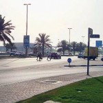 *  A Gulf News reader says people in Al Barsha are being fined for jaywalking, but they don't have a footbridge to cross the road to get to the Metro station.     * Image Credit: A. A., Gulf News Reader