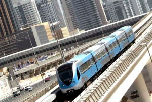 Dubai Metro has altered the commuting scene in this car-loving city. (AFP/Getty Images)