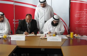 Signing the agreement between RTA and Royal Island Beach Club.