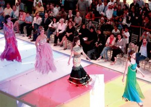 Models walk the ramp in creations by Lebanese deisgner Noha Karam at The Dubai Mall as part of Dubai Fashion last year. — KT file photo