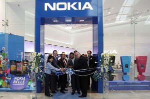Nokia has opened its latest concept store in the Dubai Mall