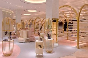 Image Credit:     Play footsie with me: From ultra luxury brands such as Louis Vuitton to Dior, LV, Prada and Todd's to sports brands such as Lacoste, Puma and Diesel, shoppers could end up with their feet in a twirl at th e sheer variety of shoes and brands on sale at the outlet