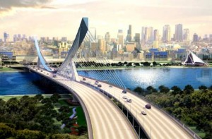 Image Credit: WAM The 12-lane Al Ittihad Bridge will be built at a cost of Dh1.1 billion and will be linked directly with the Rashid Hospital Tunnels. It will facilitate a smooth flow of traffic on Ittihad Road across the Dubai Creek.