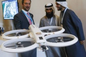 Image Credit: Ahmed Ramzan/Gulf News     A demonstration of a drone which is in the experimental stage. It will be tested in Dubai for six months.