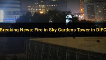 Breaking News: Major Fire Breaks in Sharjah Residential Tower