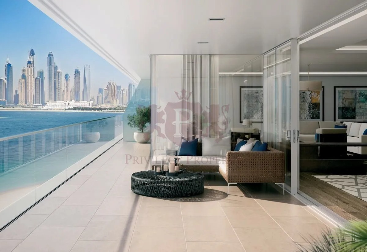 5 Bedroom at W Residences on the Dubai Palm Island