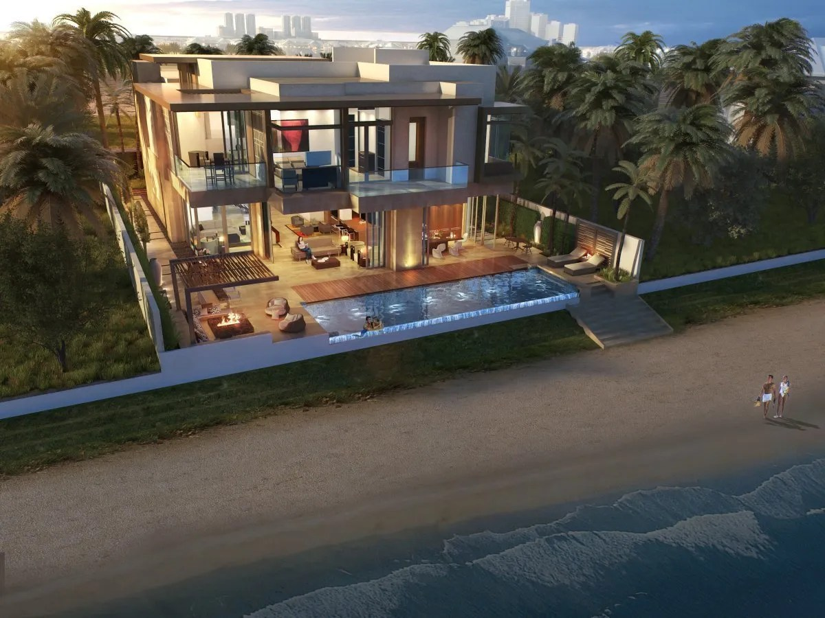 spacious 5 bedroom beach home
