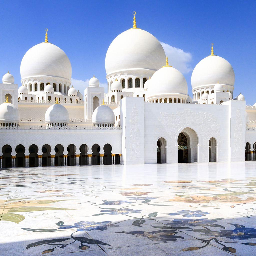 Sheikh Zayed mecset Abu Dhabi