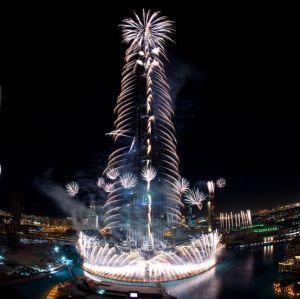 Burj Khalifa tüzijáték