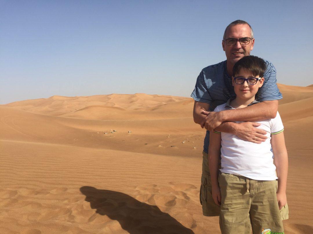 Budai Marci 2017 december - sivatag, dűnék, Dubai