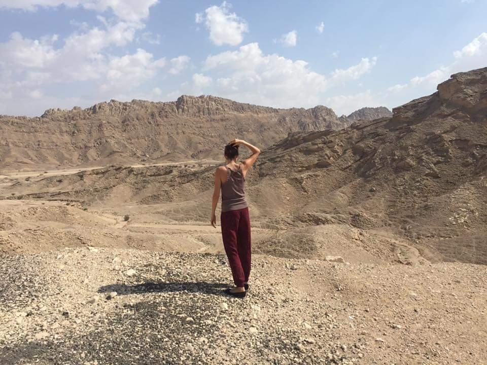 Varga Évi egyik kedvenc terepén a hegyekben - Dubaiprogramok.com