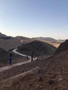 Buhais geológiai park - tanösvény