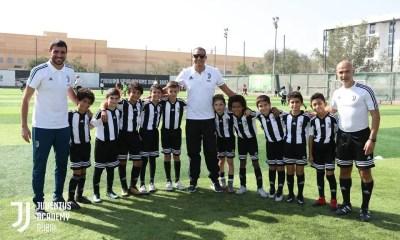 Continua il successo della Juventus Academy negli UAE