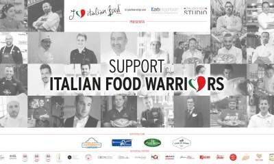 """""""Support Italian Food Warriors"""" sosteniamo i ristoranti italiani nel mondo"""