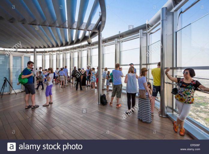 Burj Khalifa's Observatory decks