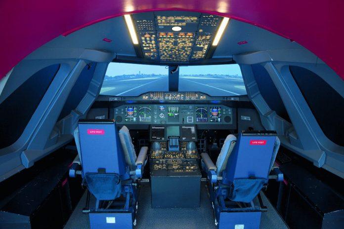 Emirates A380 Simulator