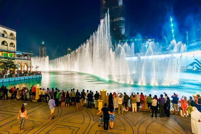 Dubai Fountain Exquisite