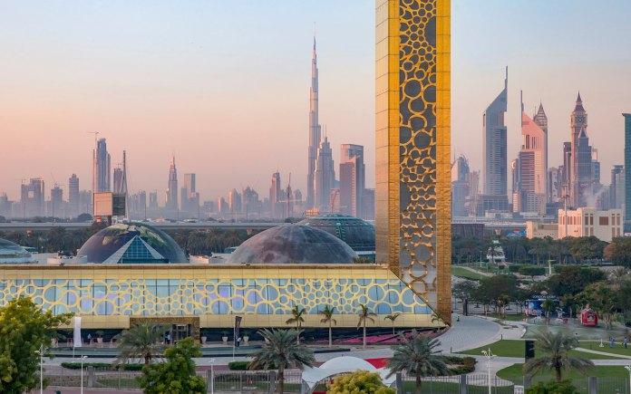 Dubai Frame Edges
