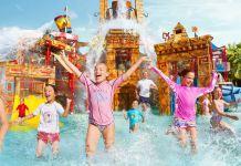Children in Aquaventure Dubai