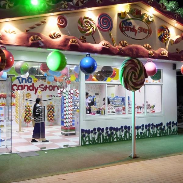Candy Shop in Dubai Miracle Garden